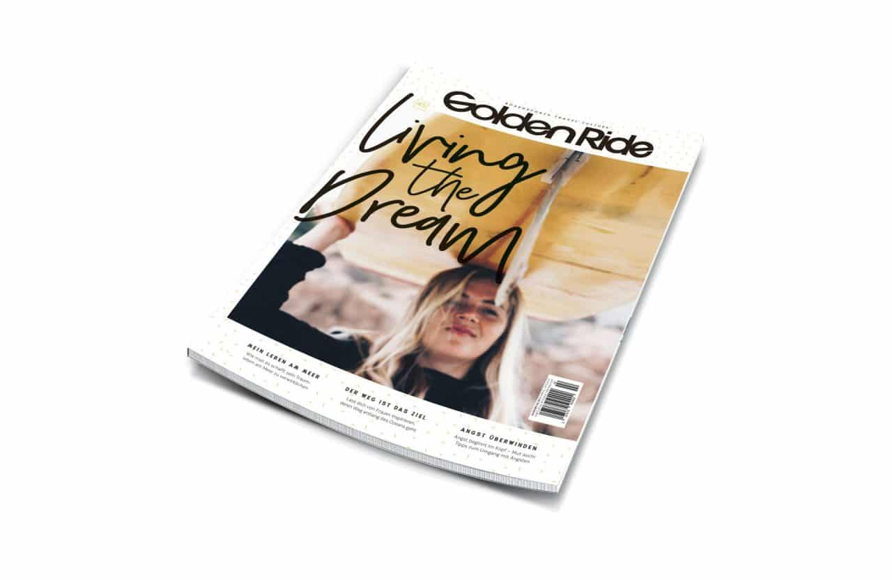 Golden Ride Magazine, Living the dream Ausgabe