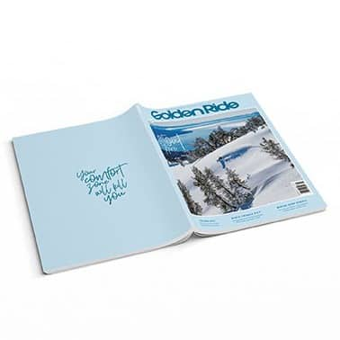 Golden Ride Snow Issue