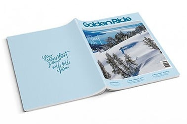 Golden Ride Snow Issue