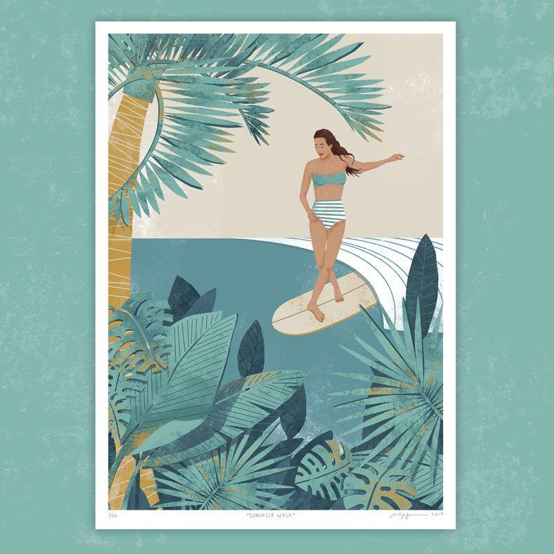 Pia Opfermann, Surf Art, Pia Opfermann Bild