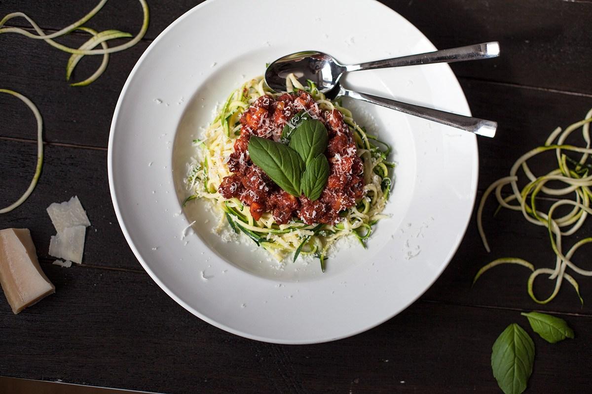 Zucchini Spagetti, Valeska Schneider, Surf Food