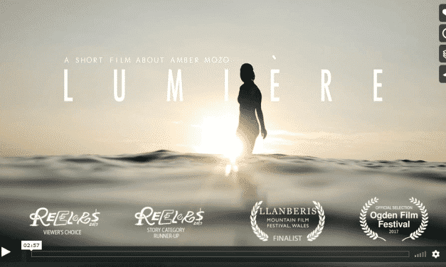 Kurzfilm Lumiére über Fotografin Amber Mozo