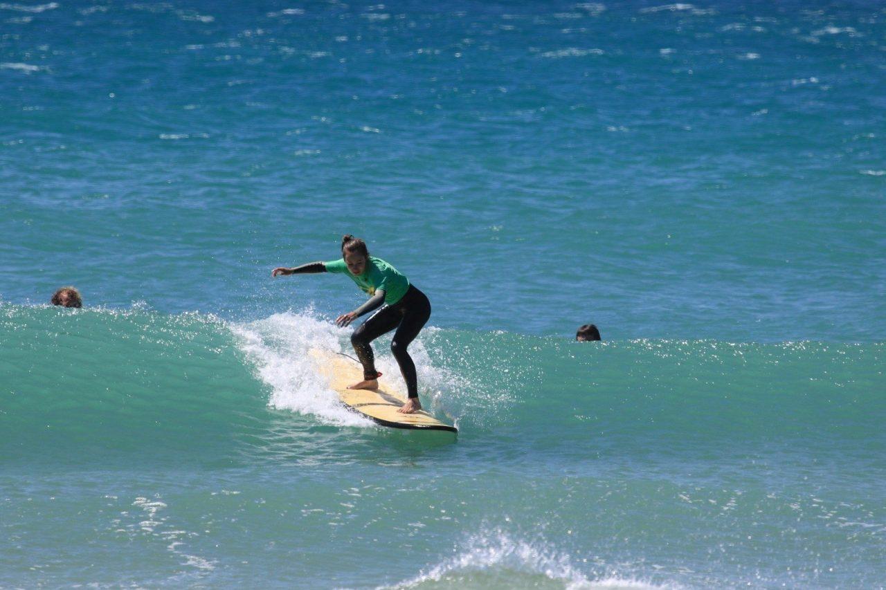 Surfunterreicht Camoni Surfcamp Andalusien