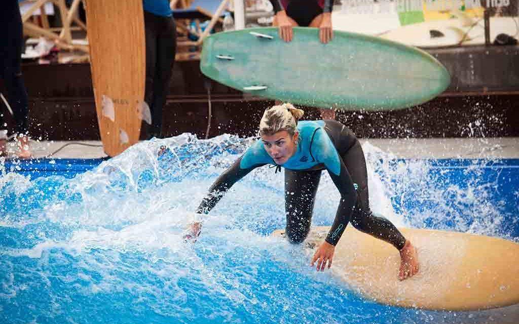 Surfen in der Stadt: die Citywave