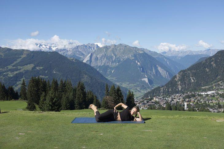 Yogalatis für Snowboarder