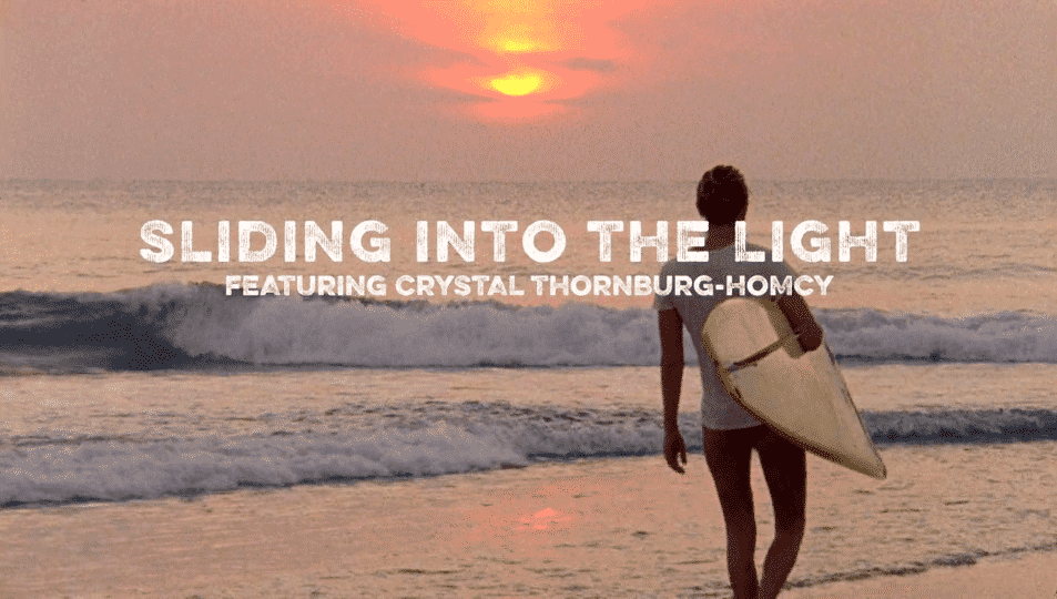 Crystal Thornburg-Homcy Sliding into the Light