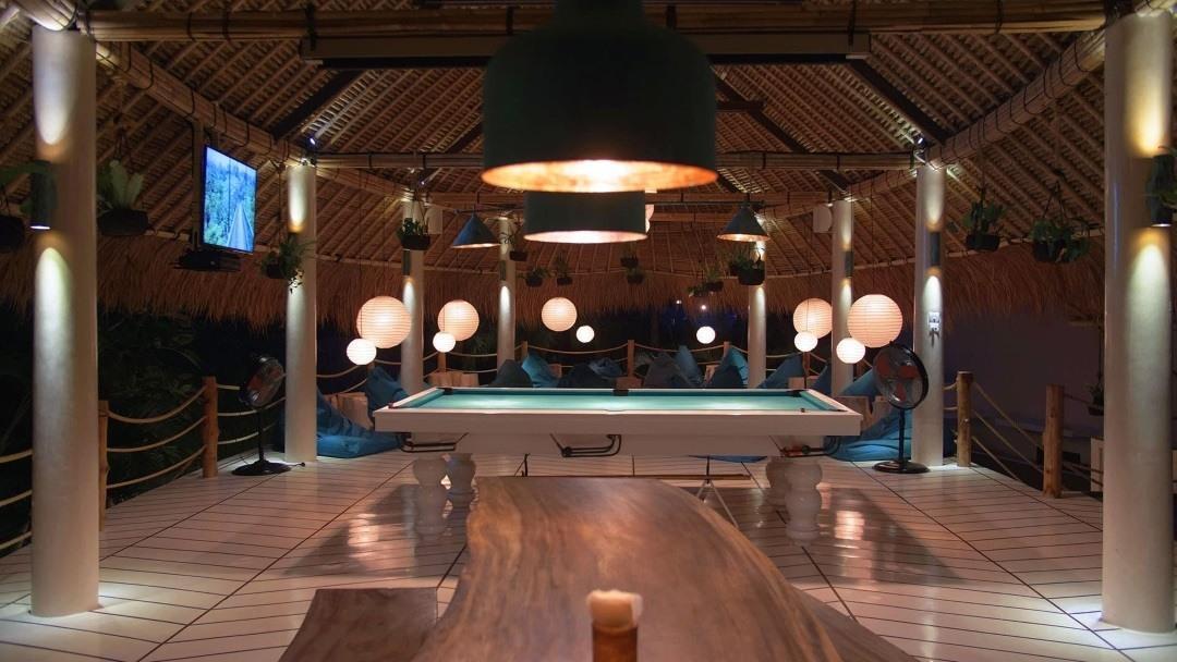 Kima Surfcamp Canggu Bali Billiard