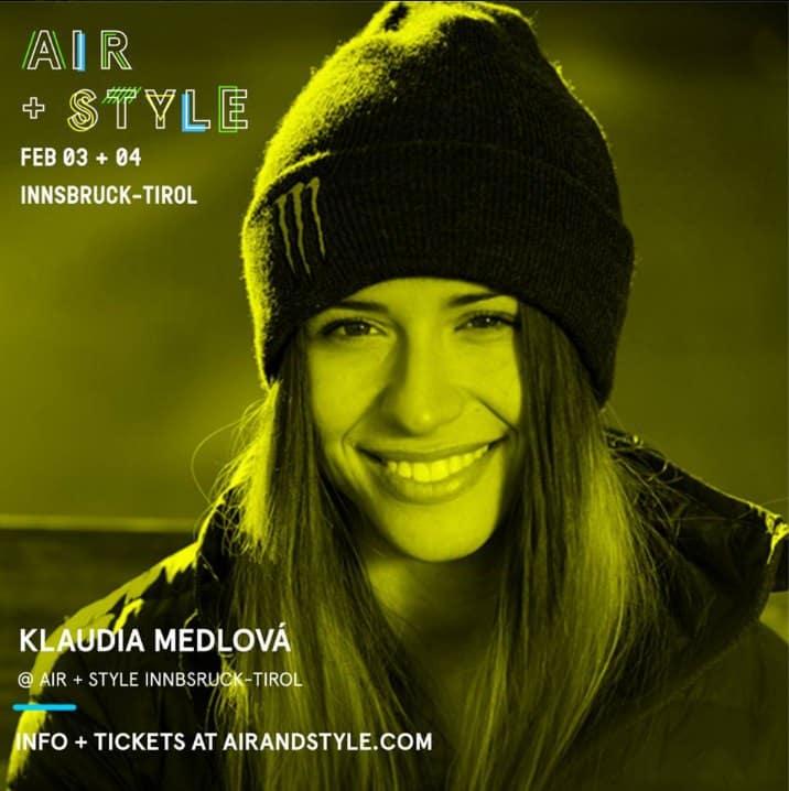Klaudia Medlova, Air & Style