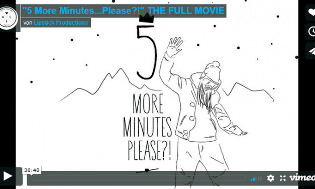 Lipstick Productions – 5 more minutes… please?!