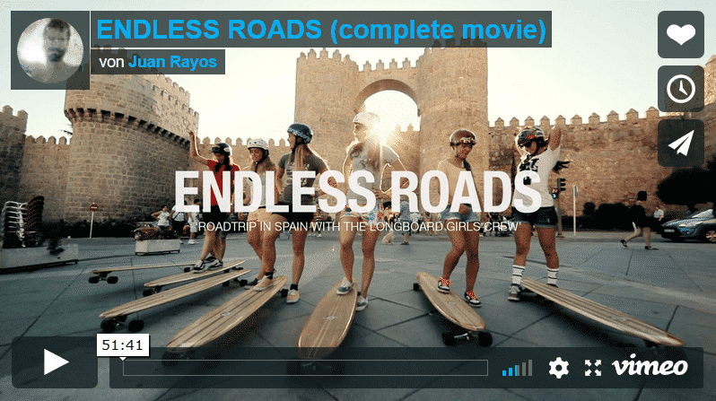 Longboard Girls Crew - Endless Roads