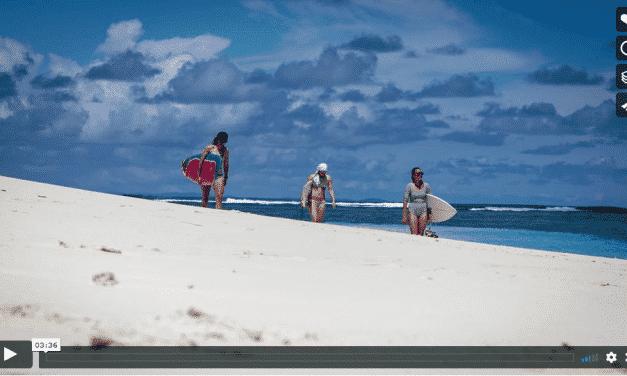 Aline Bock, Lena Stoffel und AFM auf Mentawai