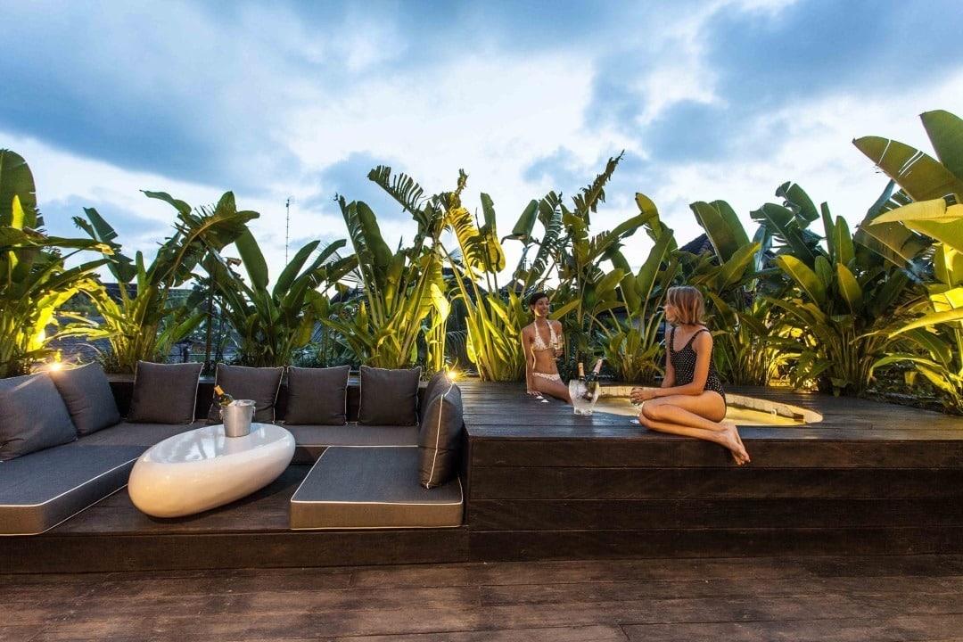 Seminyak Deluxe Villa & Apartments - Dachterrasse