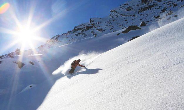 Beim Snowboarden die Zeichen der Natur deuten