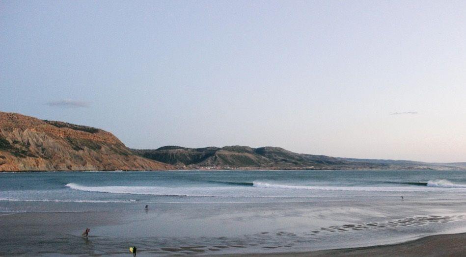 Strand vom Tamraght bei Westsurf