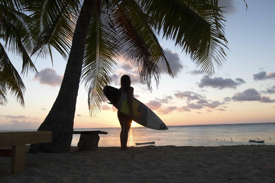 Sunset Surf mit Safari Surf Adventures