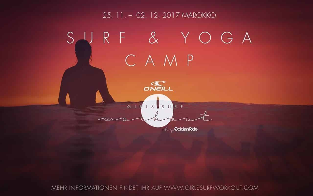 O'Neill Girls Surf & Yoga Camp by Golden Ride