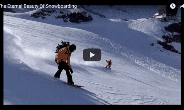 The Eternal Beauty of Snowboarding