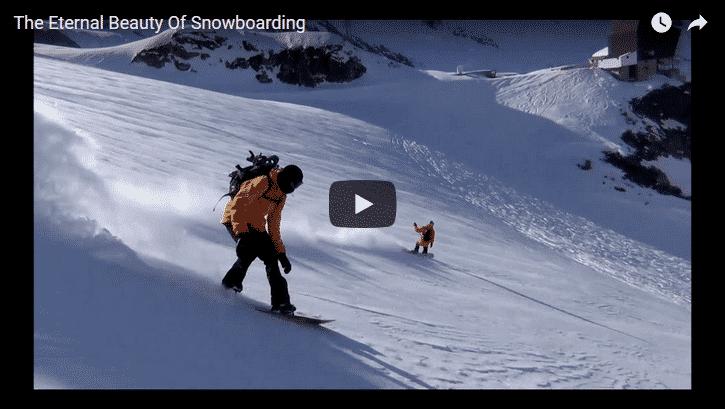 The Eternal Beauty of Snowboarding Jerome Tanon