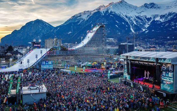 8 Snowboarderinnen starten beim Air & Style Innsbruck