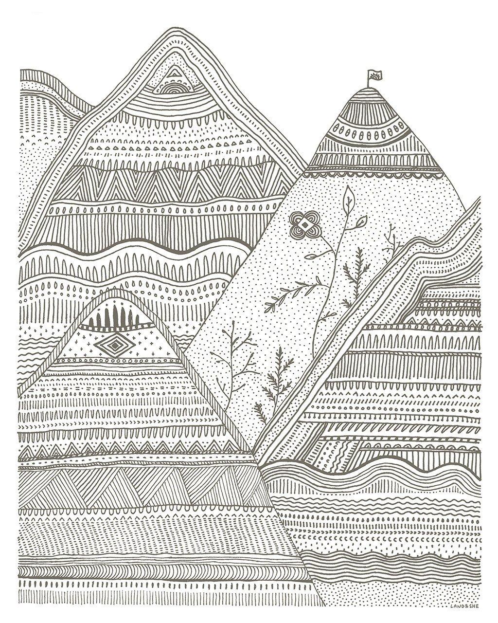 Artist Emily Kelley - Land & She