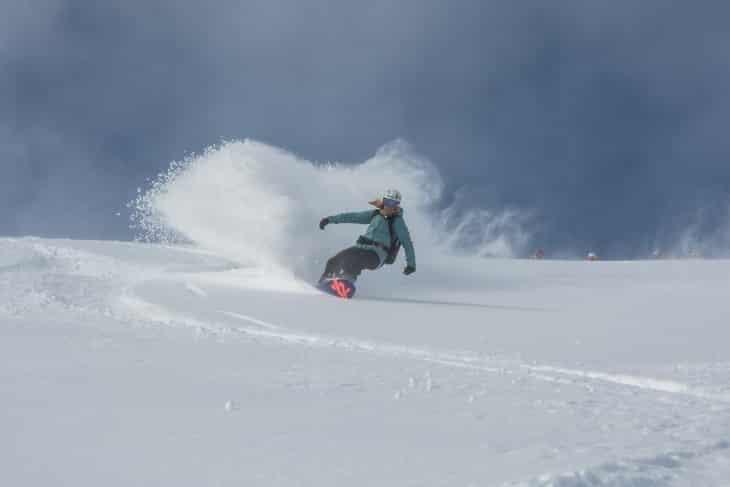 SNOWBOARD FITNESS – FREERIDEN