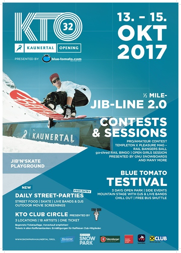 Kaunertal Snowpack Opening 2017