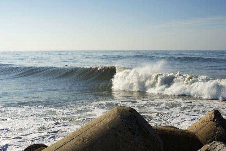 Surfen direkt in der Stadt - in Porto ist das möglich