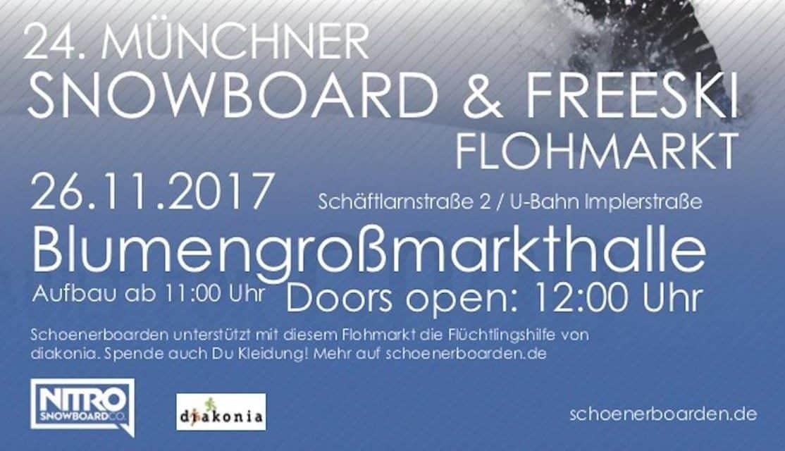 24. Münchner Snowboardflohmarkt 2017