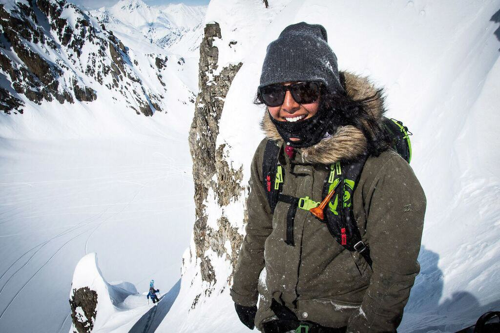 Snowboarder Taylor Godber, Photo by Chad Chomlack