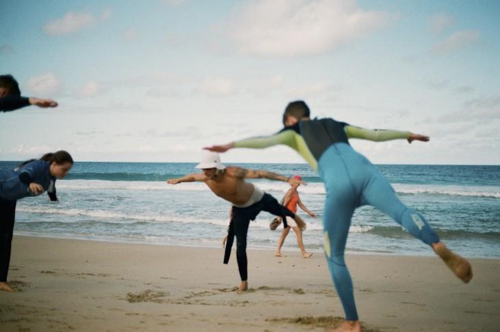 Surfen am Strand von El Cotillo
