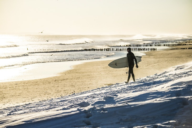 Morgenstimmung am Rockaway Beach