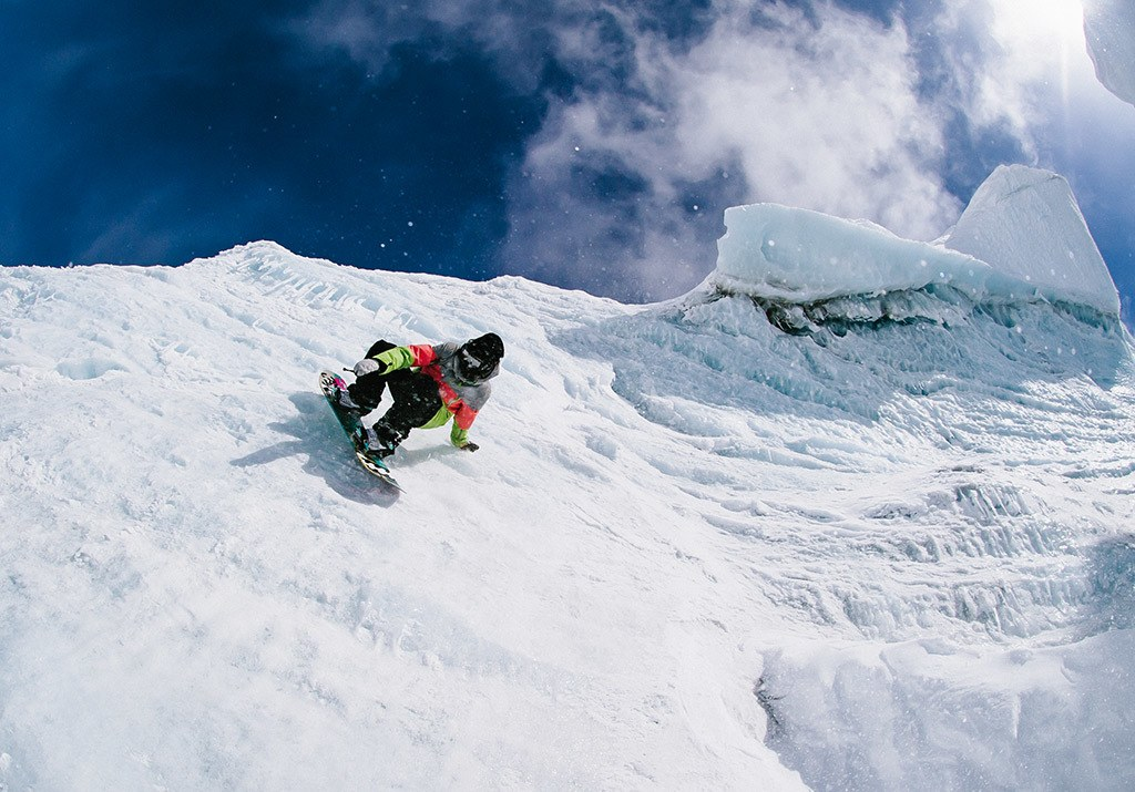 Snowboarder Taylor Godber