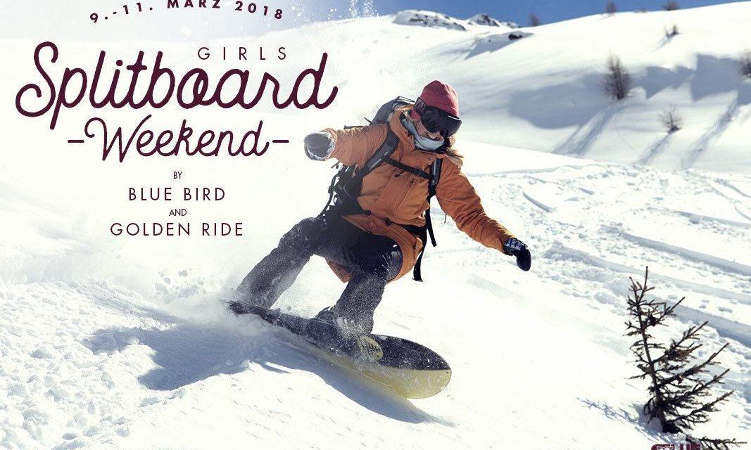 Golden Ride & Bluebird Girls Splitboard Weekend