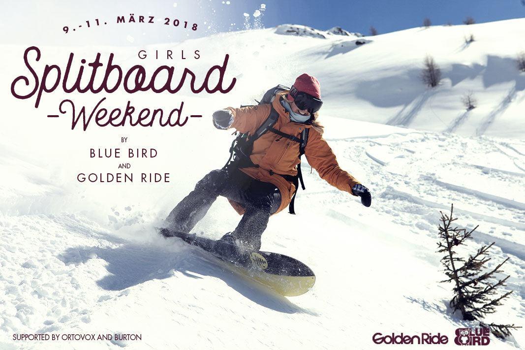 Golden Ride x Bluebird Girls Spitboard Weekend 2018
