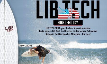 Gewinnspiel – Lib Tech Surfdemo in der Jochen Schweizer Arena