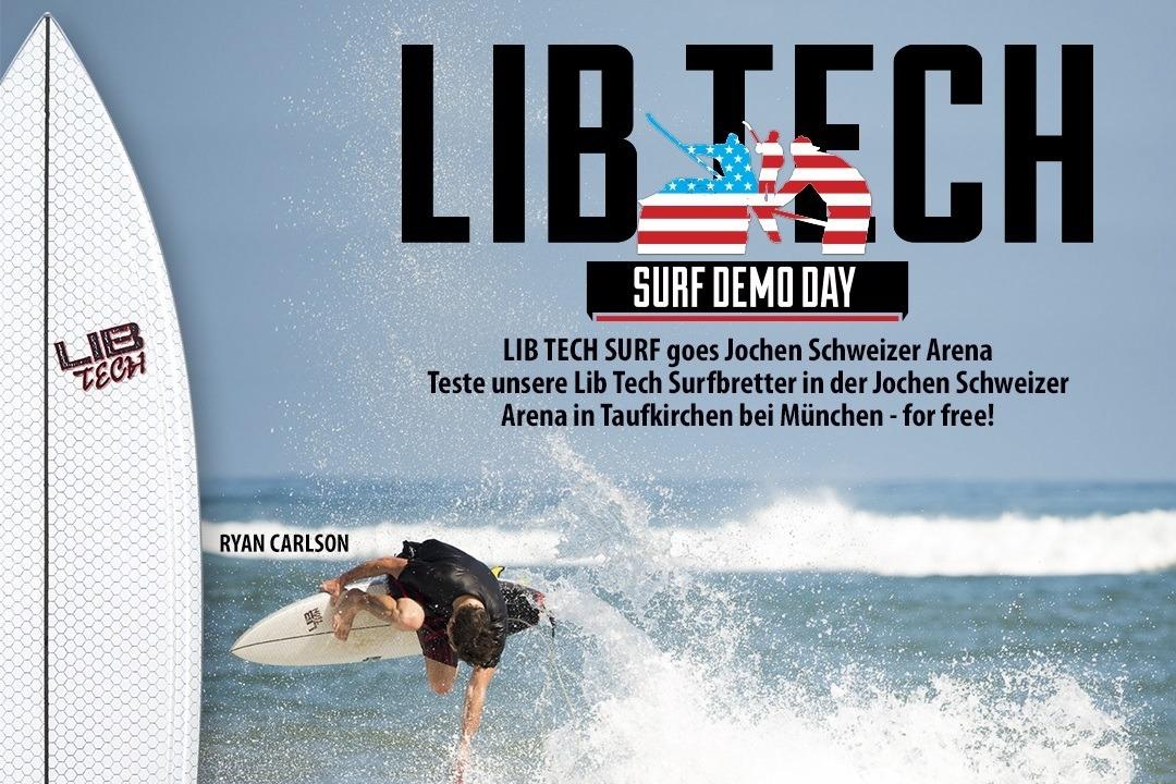 Lib Tech Surf Demo Jochen Schweizer Arena