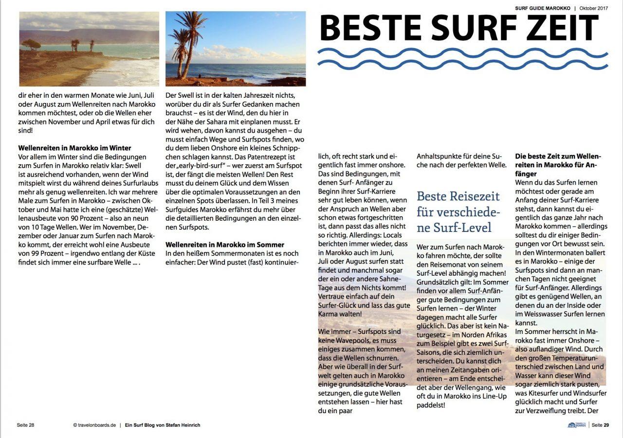 Surfguide Marokko