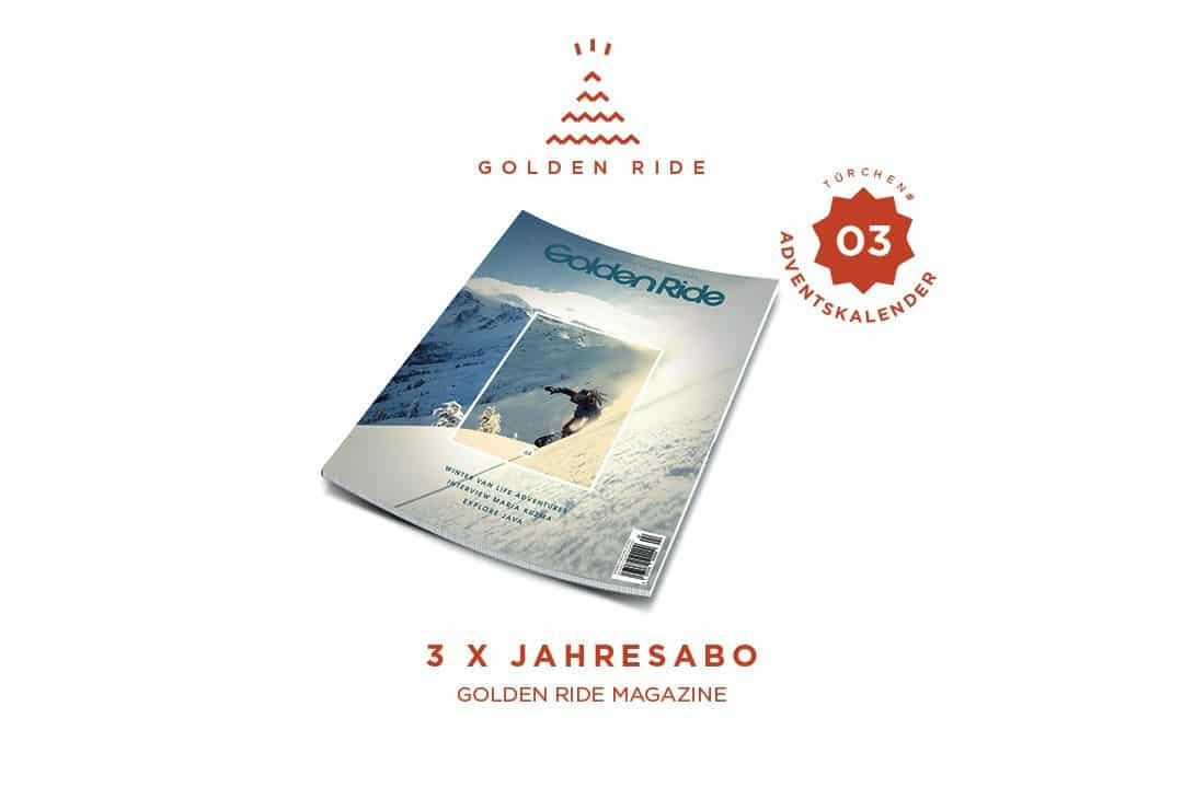 Golden Ride Jahresabo