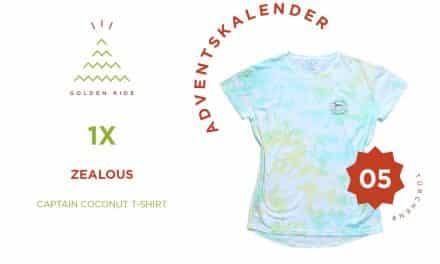 Adventskalender 5. Türchen: Captain Coconut T-Shirt von Zealous Clothing