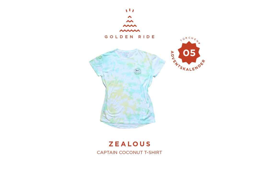 Captain Coconut TShirt Zealous Clothing