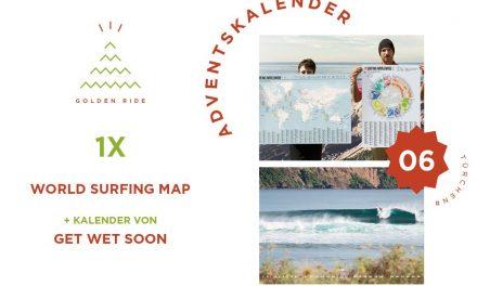 Adventskalender 6. Türchen: Surfing Worldwide Map & Kalender