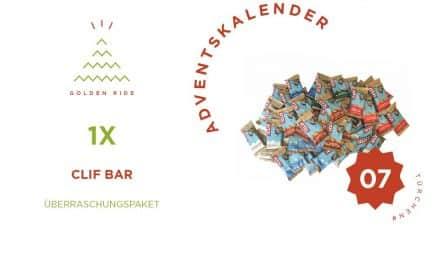 Adventskalender 7. Türchen: Clif Bar Überraschungspaket