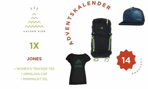 Adventskalender 14. Türchen: Set von Jones Snowboards