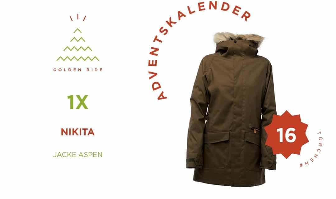 Adventskalender 16. Türchen: Aspen Jacket von Nikita Clothing