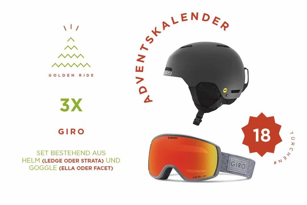 Giro Goggle, Giro Helm, Gewinnspiel