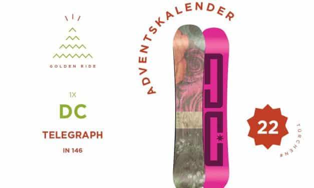 Adventskalender 22. Türchen: Snowboard DC Telegraph in 146 cm