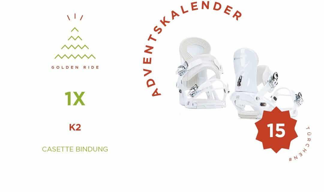 Adventskalender 15. Türchen: Cassette Bindung von K2