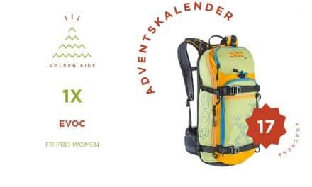 Adventskalender 17. Türchen: Rucksack FR Pro Women von Evoc