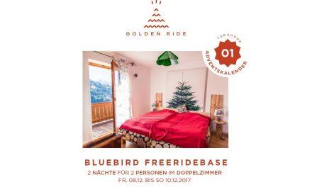 Adventskalender 1. Türchen: 2 Übernachtungen in der Freeride Base