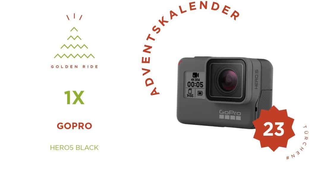 Adventskalender Türchen 23: Hero5 Black von GoPro
